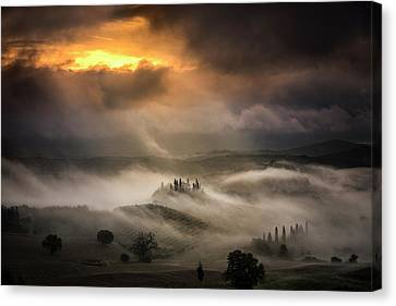 Waves Of Fog Canvas Print