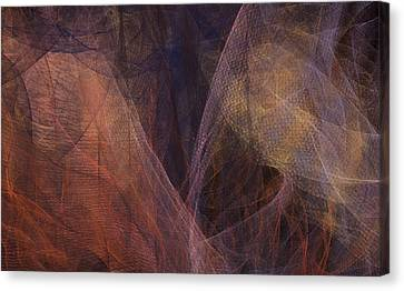 Waves Of The Heart Canvas Print by Constance Krejci