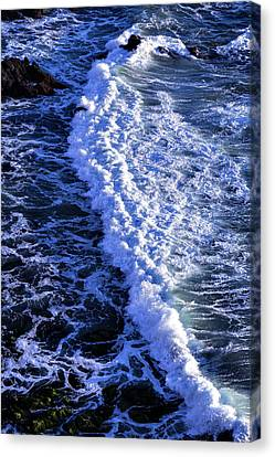 Sonoma Coast Canvas Print - Waves Pacific Ocean by Garry Gay
