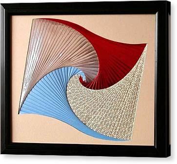 Artisan Canvas Print - Waves by Ron Davidson