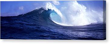 Waves Splashing In The Sea, Maui Canvas Print by Panoramic Images