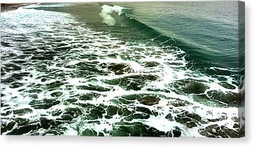 Waves Canvas Print by Susi Manners