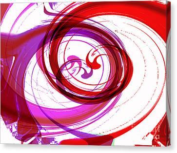Circling Grace 3 Canvas Print