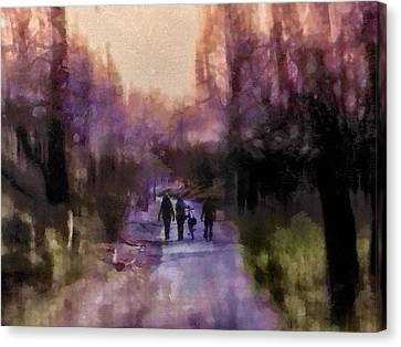 Way Home Canvas Print by Madeleine Assink