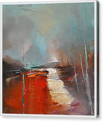 Way Home V Canvas Print by Dafarte
