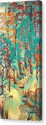Way To Ataga Canvas Print by Pg Reproductions