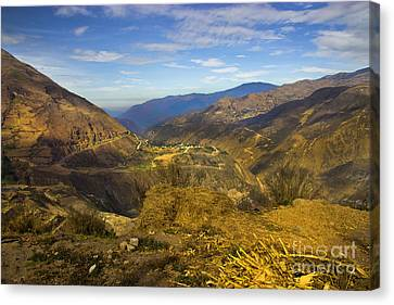 Way Up In The Ecuadorian Andes Canvas Print