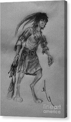 Wayfarer Canvas Print by Michelle Rene Goodhew