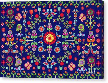 Wayuu Tapestry Canvas Print