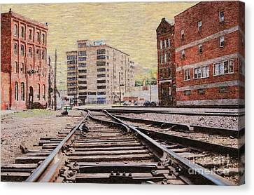 Wb - West Bottoms - Kcmo Canvas Print by Liane Wright