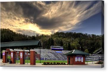 Wcu Catamounts Football Stadium Canvas Print