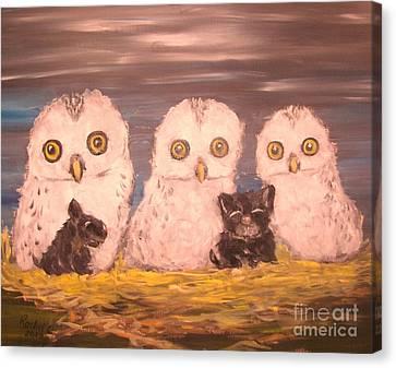 We Adopted Canvas Print by Rachel Carmichael