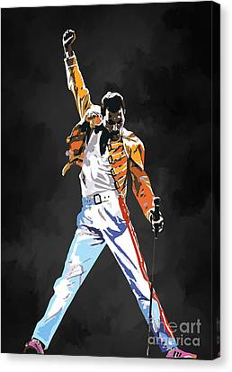 We Are The Champions  Canvas Print