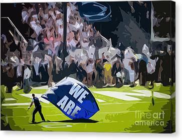 We Are Canvas Print by Tom Gari Gallery-Three-Photography