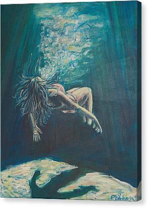 We Cease To See Canvas Print by Erik Warn