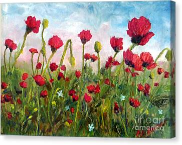 We Don't Forget Canvas Print