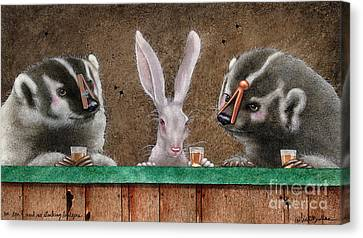 We Dont Need No Stinking Badgers... Canvas Print by Will Bullas