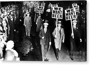 We Want Beer Canvas Print by Jon Neidert