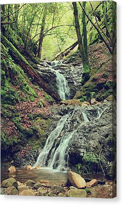 Water Flowing Canvas Print - We Were Lost In Love by Laurie Search