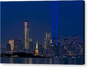 We Will Never Forget 2013 Canvas Print by Susan Candelario