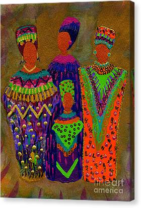 We Women 4 Canvas Print