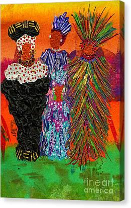 We Women Folk Canvas Print by Angela L Walker