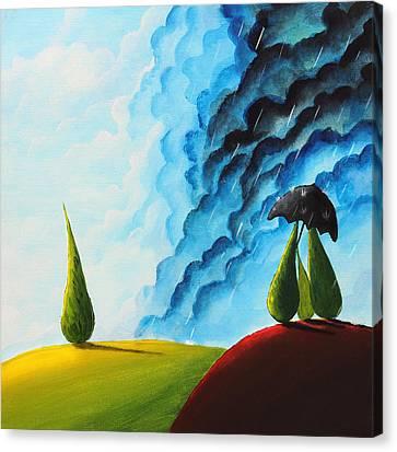 Weather Change Canvas Print by Nirdesha Munasinghe