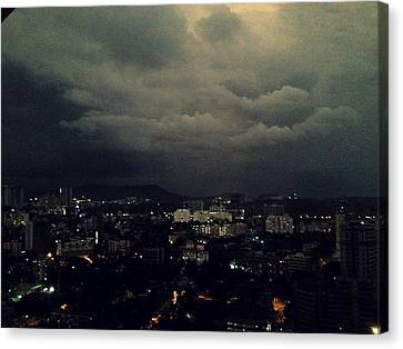 Weather Coming Canvas Print by Peter  Menner