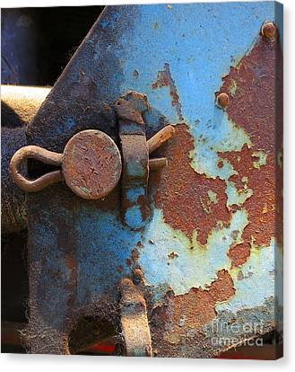 Weathered And Aged Canvas Print