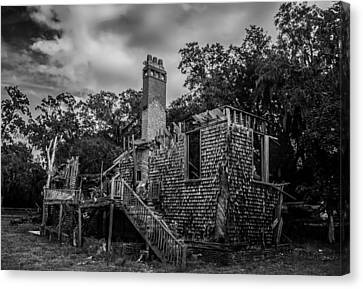 Weathered Home Canvas Print