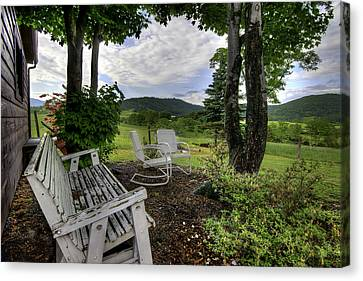 Canvas Print featuring the photograph Weathered Rest by Tim Stanley