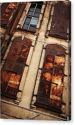 Urban Exploration Canvas Print - Weathered by Thomas Zimmerman