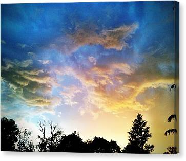 Weathering Sky Canvas Print