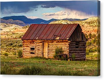 Weathering The Storm Canvas Print by James Marvin Phelps