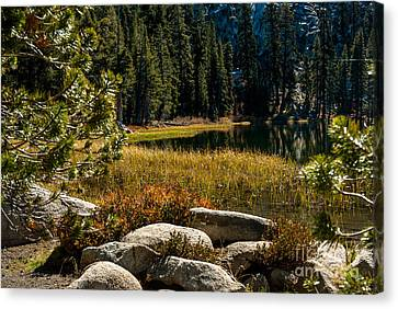 Weaver Lake -1-7682 Canvas Print