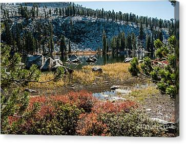 Weaver Lake- 1-7695 Canvas Print