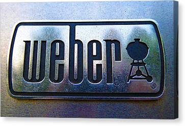 Weber Canvas Print by Laurie Tsemak
