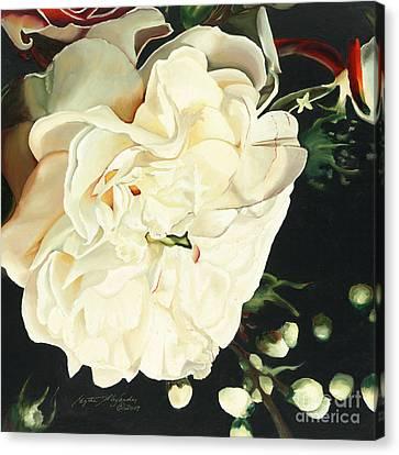 Wedding Belle Canvas Print by Edythe Alexander