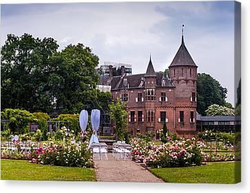 Wedding Setting In De Haar Castle. Utrecht Canvas Print