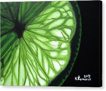 Wedge It Canvas Print by Kayleigh Semeniuk