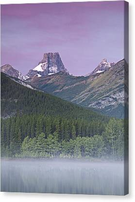Wedge Pond And The Fortress Canvas Print