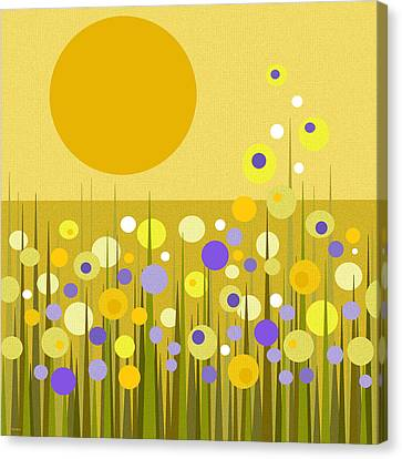 Weeds Canvas Print by Val Arie