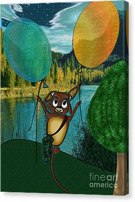 Weeeeeeee Canvas Print by NightVisions