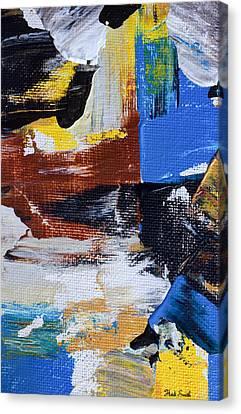Burnt Umber Canvas Print - Weekend Retreat by Heidi Smith