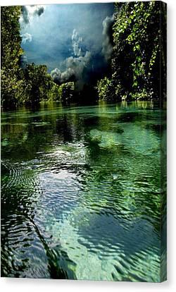 Weekie Sky Canvas Print by AR Annahita