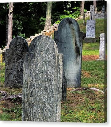 Weeks Cemetery Canvas Print