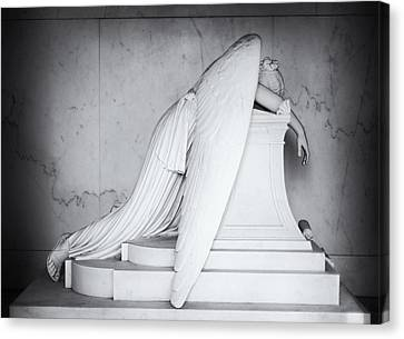 Weeping Angel 1 Canvas Print by John Gusky