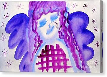 ...weeping Angel... Canvas Print by Jutta Gabriel