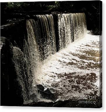 Weeping Falls Canvas Print by Scott Allison