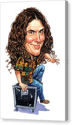 Weird Al Yankovic Canvas Print by Art